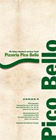 Speisekarte Pico Bello 2014